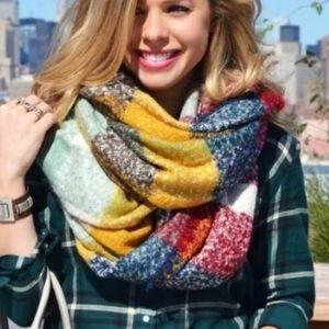 Zara Blanket Scarf Multi Color
